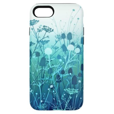 Tania's Garden phone case - peacock