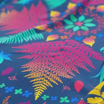 Mandala 90cm square silk scarf - jewel