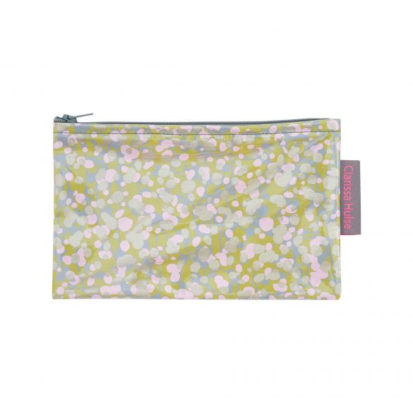 Small make up purse - garland - quince / oyster
