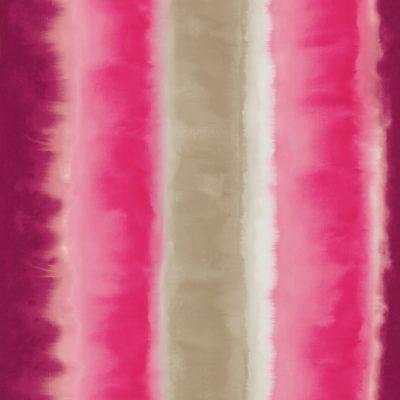 Demeter Stripe wallpaper - fuchsia/ neon / pebble (110193)
