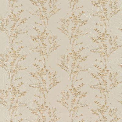 Salvia silk dupion fabric - putty / honeycomb (130245)