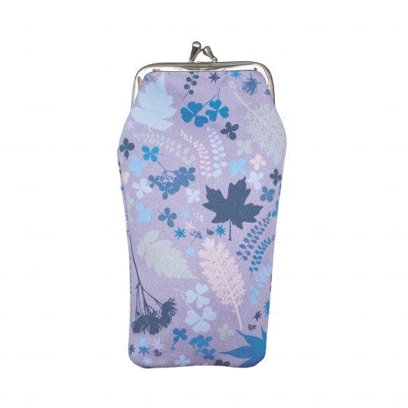 Mini Mix cotton glasses case - Lavender