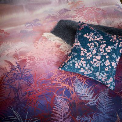 Kimono jacquard cushion