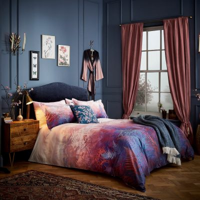 Kimono print bed linen set