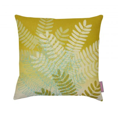 String of beads cushion