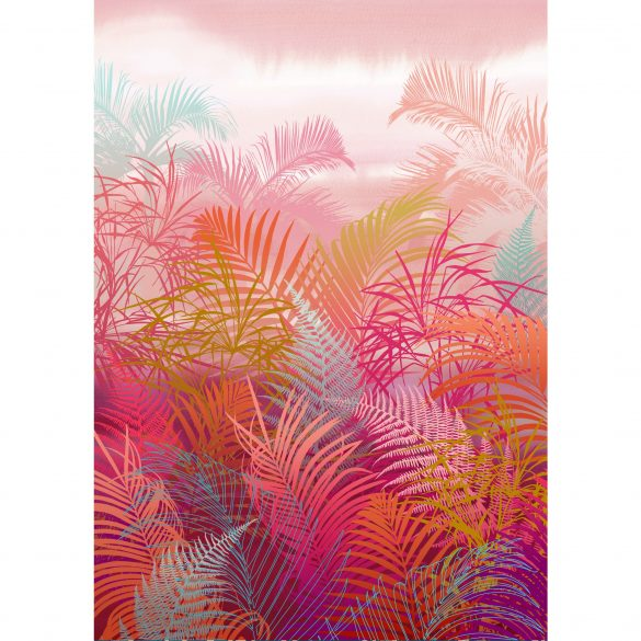 Giclée print - Cloud forest in pink