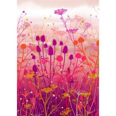 Giclée print - Tania's garden in pink