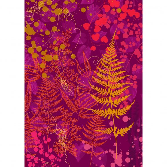 Whispering fern art print