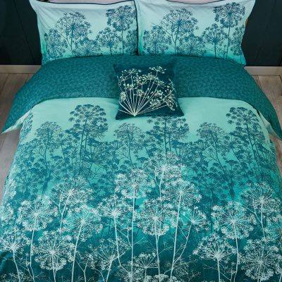 Dill bed linen - teal